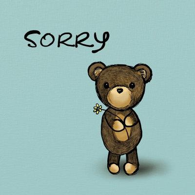 Het spijt me